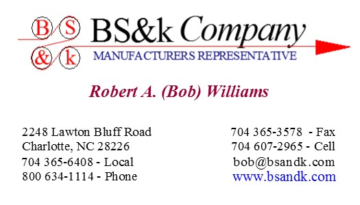 Bs&k Business Card - BOB - 8371 card